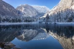 Bluntautal im Winter