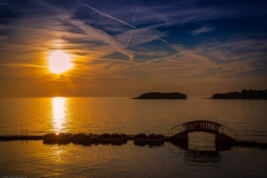 Kleine Brücke in Kroatien