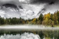 Bluntautal im Nebel