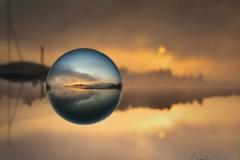 Sonnenaufgang-Wallersee
