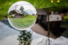 Ebenau Mühle, Glaskugel